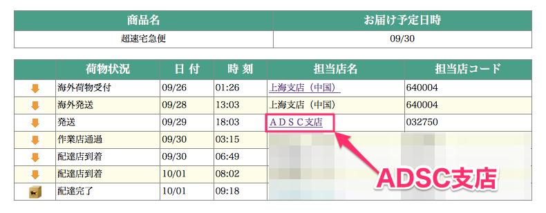 Adsc 支店 ヤマト